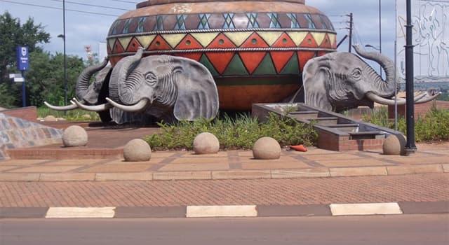 Geografía Pregunta Trivia: ¿Cuál es la capital de Venda, República incorporada a Sudáfrica?