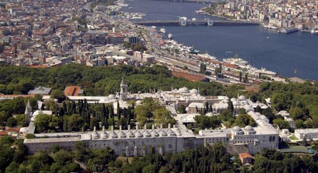 Geografía Pregunta Trivia: ¿En dónde está el Palacio Topkapi?