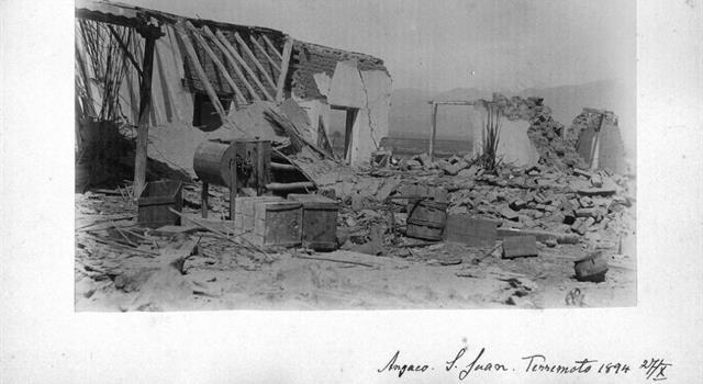 Naturaleza Pregunta Trivia: ¿En qué año se registró el terremoto de mayor magnitud en la República Argentina?