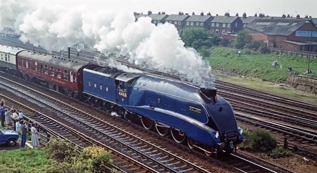 History Trivia Question: How many boilers did the 'Mallard' steam train use through its 25-year career?