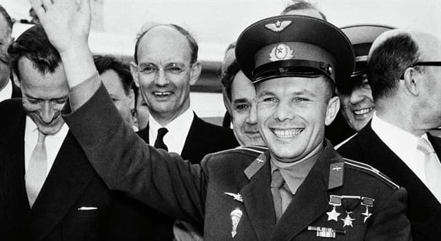 History Trivia Question: How many days did the first cosmonaut Yuri Gagarin hold the rank of captain?