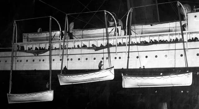History Trivia Question: How many lifeboat spaces did the Titanic have?