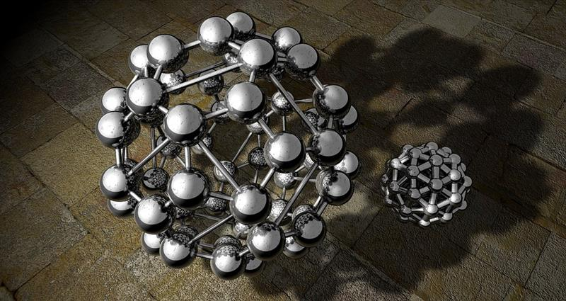 Science Trivia Question: In chemistry, what is a buckyball molecule made of?