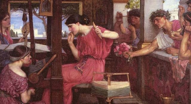 History Trivia Question: In Homer's epic, Odyssey, whose wife is Penelope?