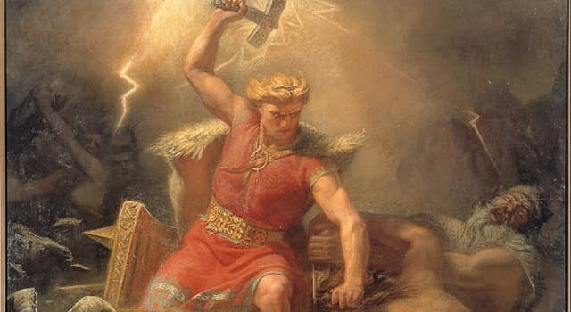 History Trivia Question: In Norse mythology, who is the father of Thor?