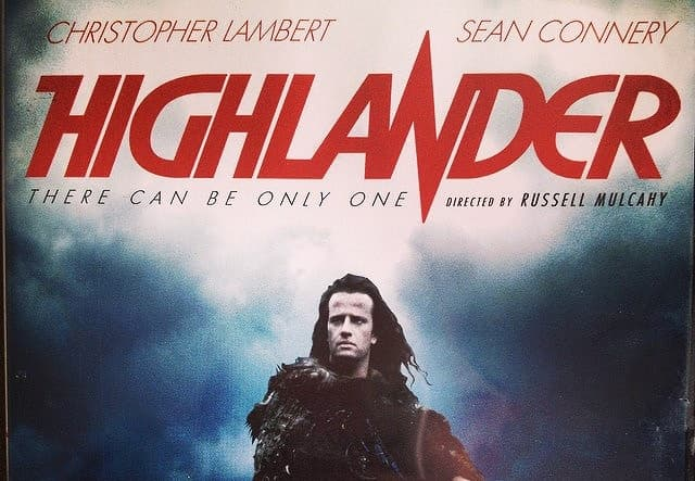 "Movies & TV Trivia Question: In ""Highlander"", where can immortals never fight?"