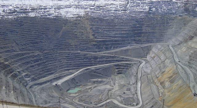 Naturaleza Pregunta Trivia: ¿La mina del Cañón de Bingham es la mayor excavación que ha realizado el hombre?