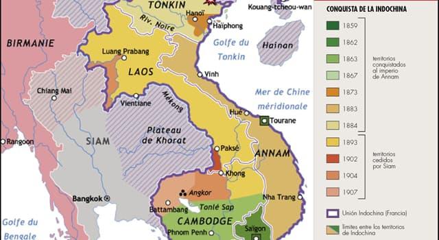 Historia Pregunta Trivia: ¿Qué acuerdos significaron el fin de la dominación Francesa en Indochina?