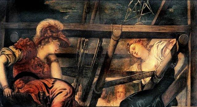 Cultura Pregunta Trivia: ¿Qué mito griego se refiere a una joven artesana que se atrevió a desafiar a la diosa Atenea?