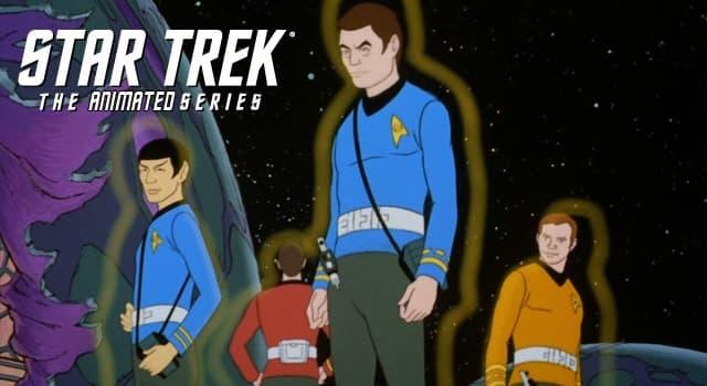Películas y TV Pregunta Trivia: ¿Qué personaje de la serie Star Trek original no fue incluido en la posterior Serie Animada?
