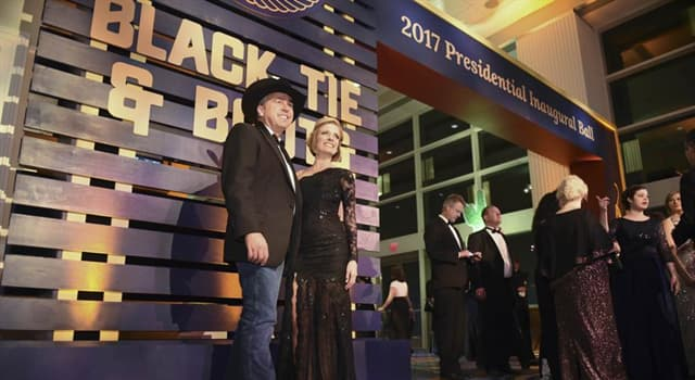 Society Trivia Question: The Black Tie & Boots Presidential Inaugural Ball is hosted by which state society?