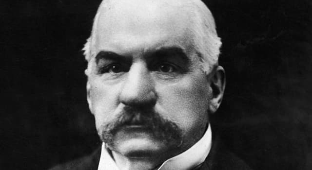 """History Trivia Question: What does the """"P"""" stand for in J. P. Morgan's name?"""
