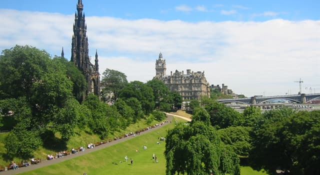 Geography Trivia Question: What is the capital of Scotland?