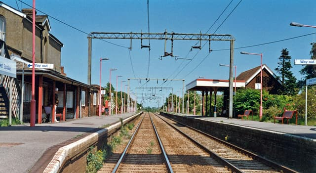 Science Trivia Question: What is the voltage used on the UK rail network's overhead electric supply?