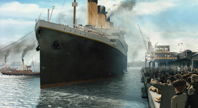 History Trivia Question: What was the estimated number of passengers and staff aboard the Titanic on its fatal voyage?