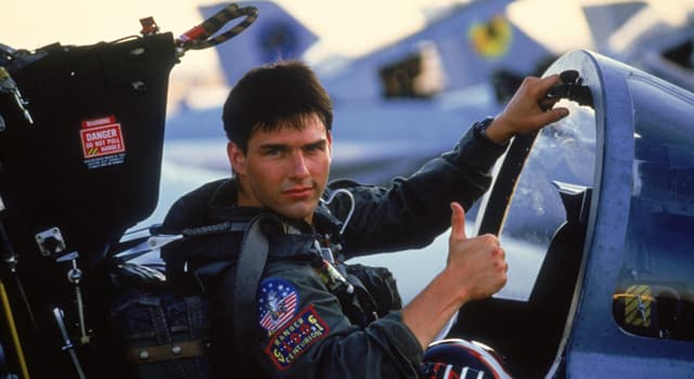 """Movies & TV Trivia Question: What was Tom Cruise's call sign in the movie """"Top Gun""""?"""