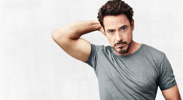 Movies & TV Trivia Question: Which silent movie star was played by Robert Downey Jr. in 1992?