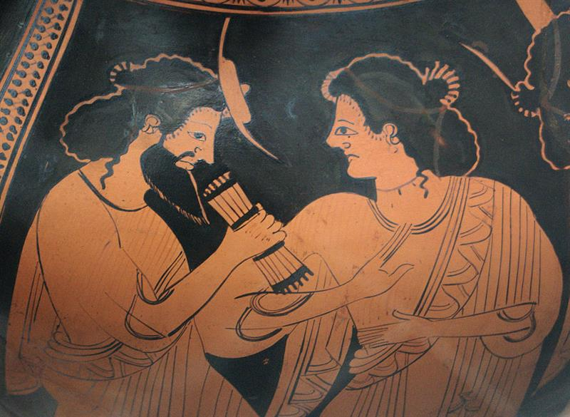History Trivia Question: Which son of Zeus was a messenger and herald of the gods?