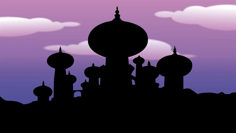 Culture Trivia Question: Who appears when Aladdin rubs the lamp?