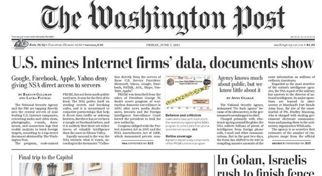 History Trivia Question: Who bought The Washington Post in 1905?