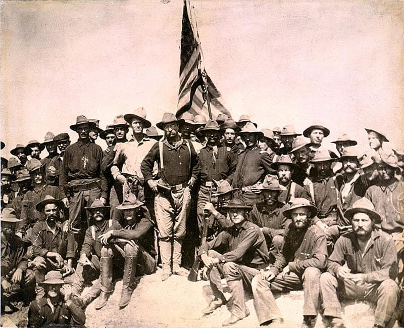 History Trivia Question: Who commanded the Rough Riders in Cuba in the Spanish American War?