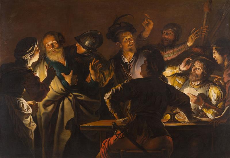 History Trivia Question: Who denied Jesus three times?