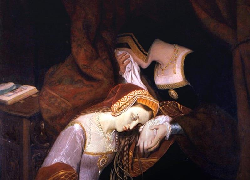 History Trivia Question: Who did Anne Boleyn lose her head over?