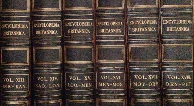 History Trivia Question: Who edited the first edition of the Encyclopædia Britannica?