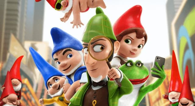 "Movies & TV Trivia Question: Who voiced Sherlock Gnomes in the animated movie, ""Sherlock Gnomes""?"