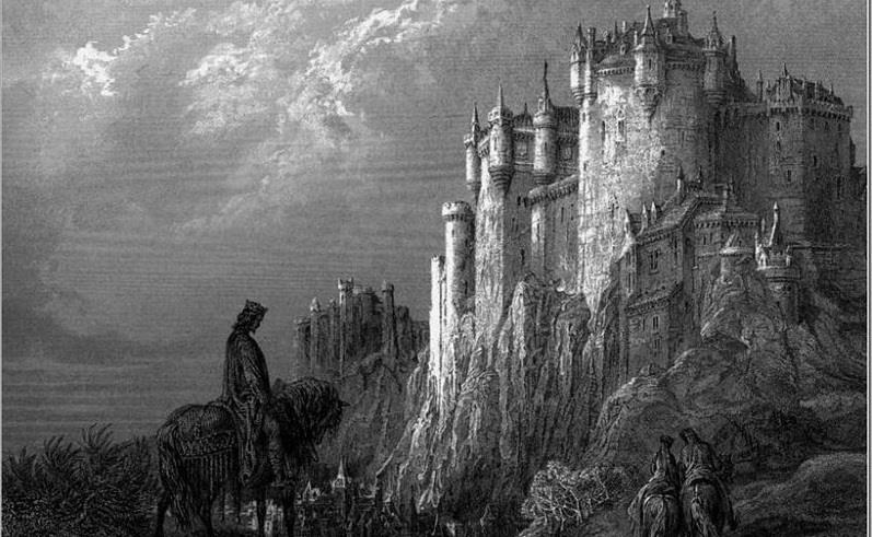History Trivia Question: With whom is the legendary Camelot castle usually associated?