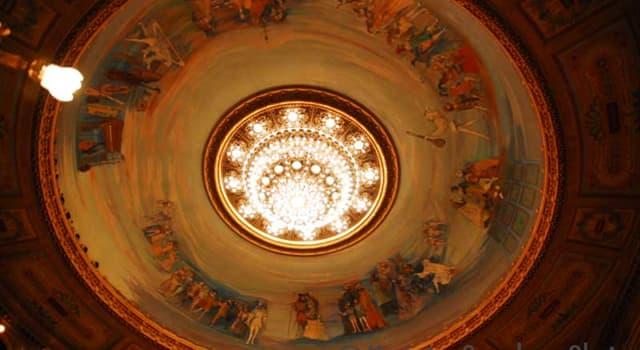 Cultura Pregunta Trivia: ¿A qué teatro corresponde esta cúpula?
