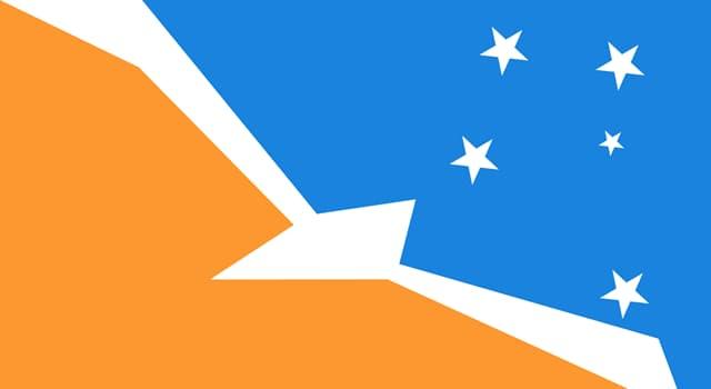 Geografía Pregunta Trivia: ¿A qué territorio pertenece la bandera de la imagen?