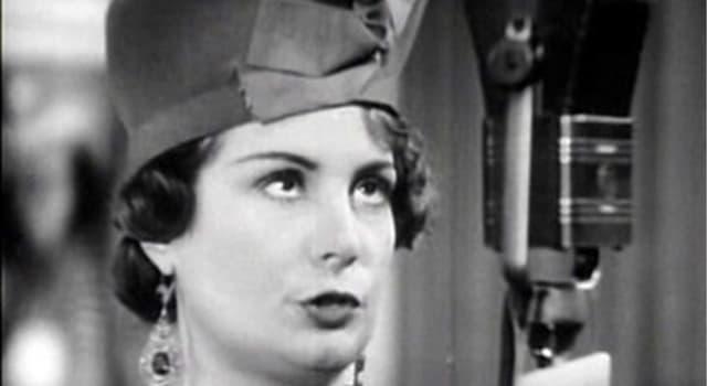 Películas y TV Pregunta Trivia: ¿Cuál era el verdadero nombre de la actriz argentina Niní Marshal?