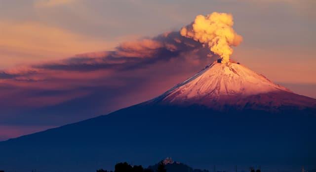 Geografía Pregunta Trivia: ¿Cuál es el nombre del volcán más grande de la Tierra?