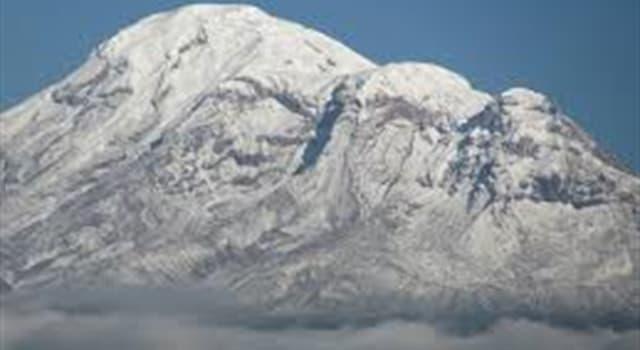 Geografía Pregunta Trivia: ¿Cuál es el punto más alto de la tierra?