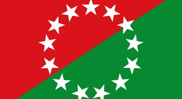 Historia Pregunta Trivia: ¿De qué provincia de la República de Panamá es la bandera que aparece en la imagen?