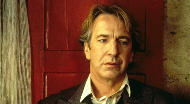Movies & TV Trivia Question: For his role in which film did Alan Rickman win a Golden Globe Award and an Emmy Award?