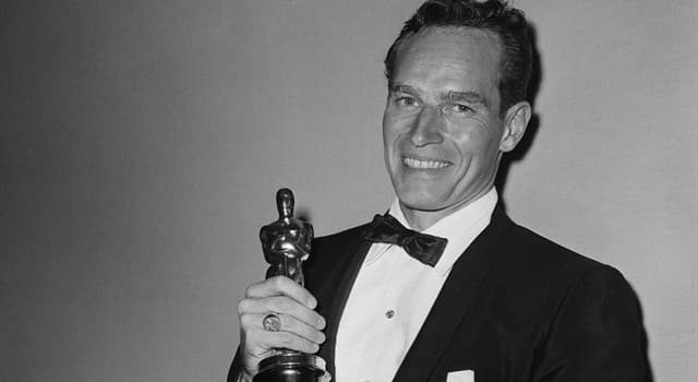 Movies & TV Trivia Question: For his role in which film did Charlton Heston get an Academy Award?