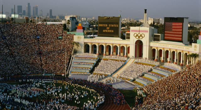 Sport Trivia Question: How many countries participated in Los Angeles Olympics 1984?