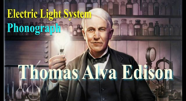 History Trivia Question: How many inventions were patented in the U.S. by Thomas Alva Edison?