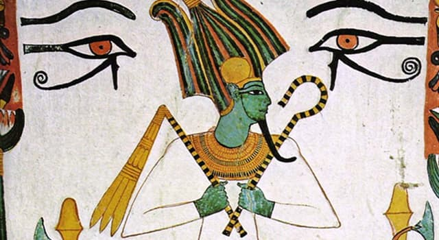 History Trivia Question: In Egyptian mythology, who is Osiris?