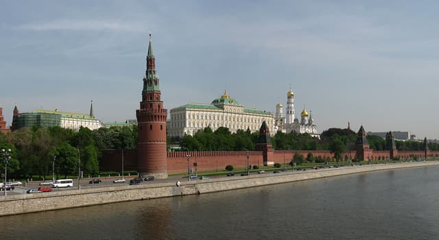 Geography Trivia Question: In what city is the Kremlin located?