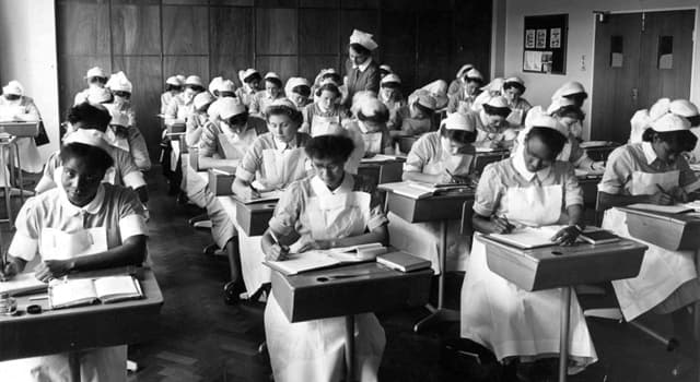 History Trivia Question: In what city was the Nightingale Home and Training School for Nurses set up in 1860?