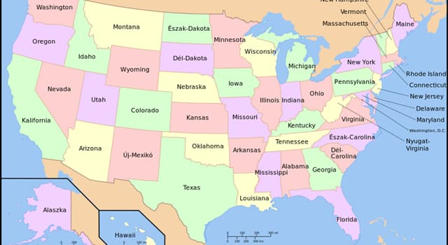 Geography Trivia Question: In what US state can you find the town of Between?