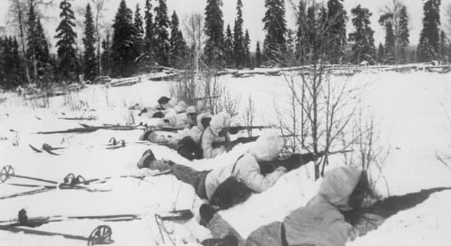 History Trivia Question: In what year during the Second World War did Finland declare war on Germany?
