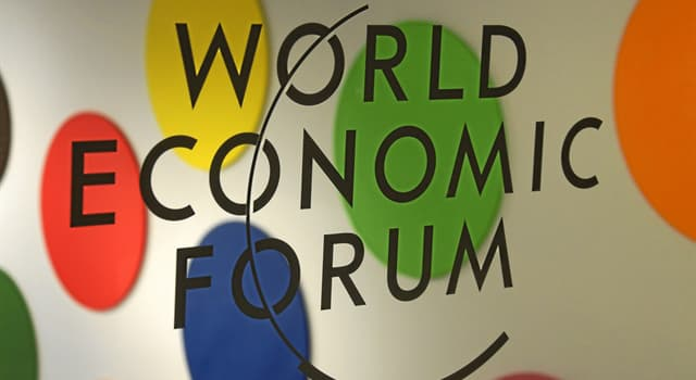 History Trivia Question: In what year was the World Economic Forum founded?