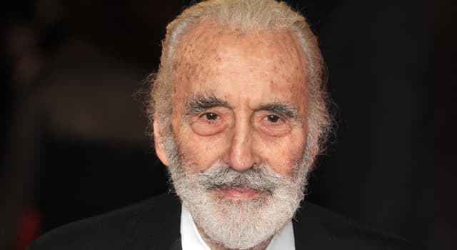 History Trivia Question: In which city was the actor Christopher Lee born?