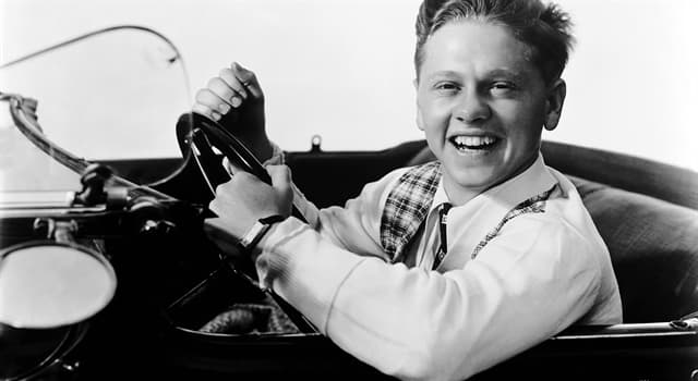 Movies & TV Trivia Question: In which film did Mickey Rooney make his debut?