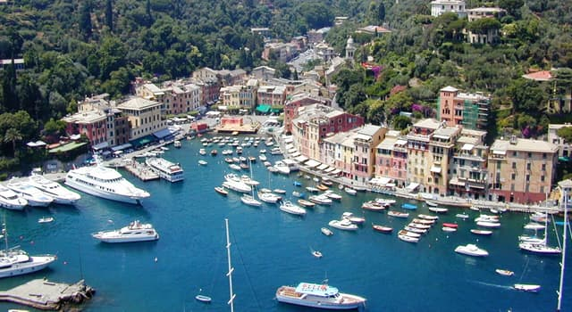 Geography Trivia Question: In which Italian Metropolitan City will you find the fishing village of Portofino?
