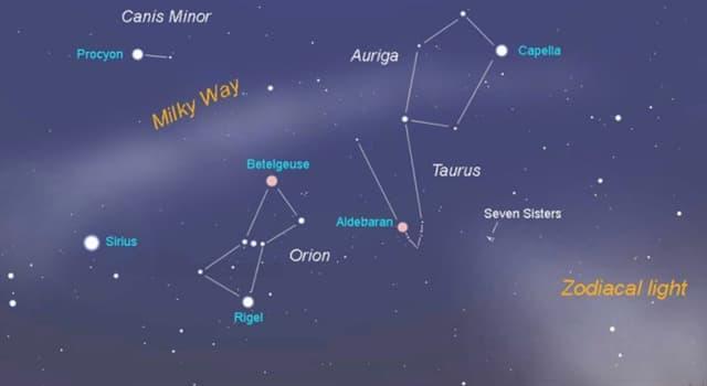 """Сiencia Pregunta Trivia: ¿Por cuántas estrellas está formado el asterismo conocido como """"G celeste"""" ?"""